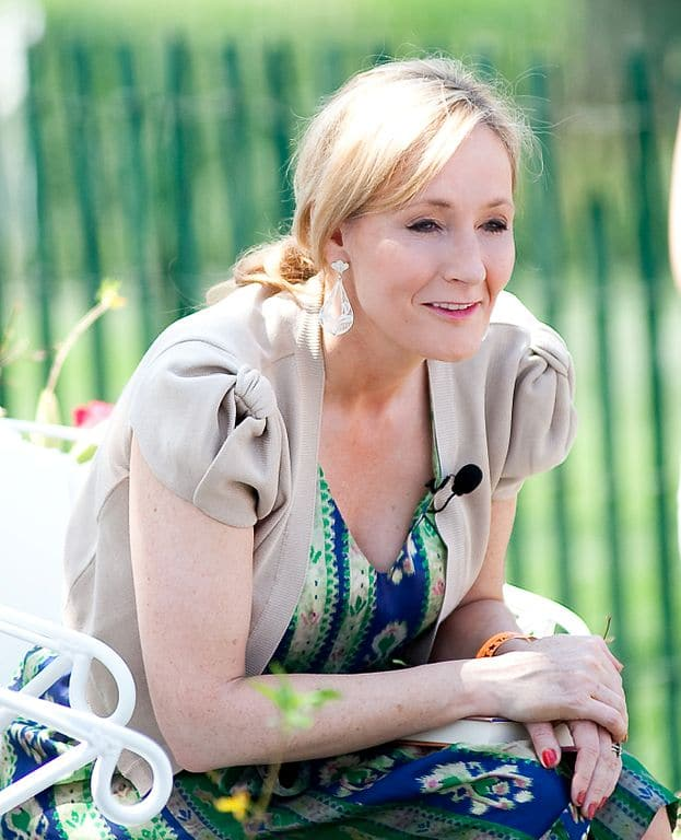 J.K. Rowling has been known to give money to women and children's charities.