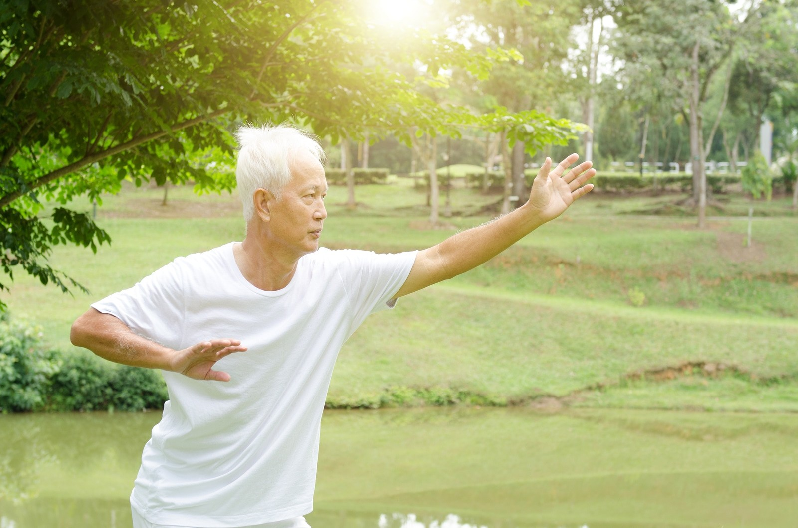 Balance exercises for older people