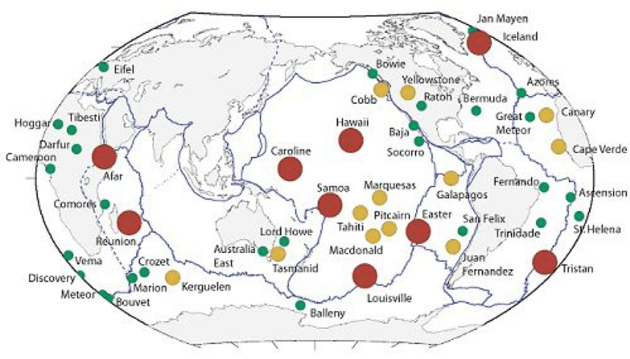 Earths hotspots