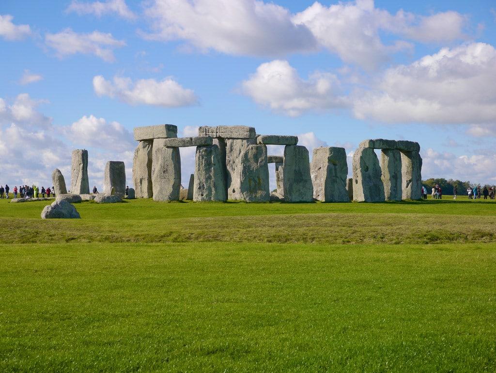 mesmerizing view of historical stonehenge