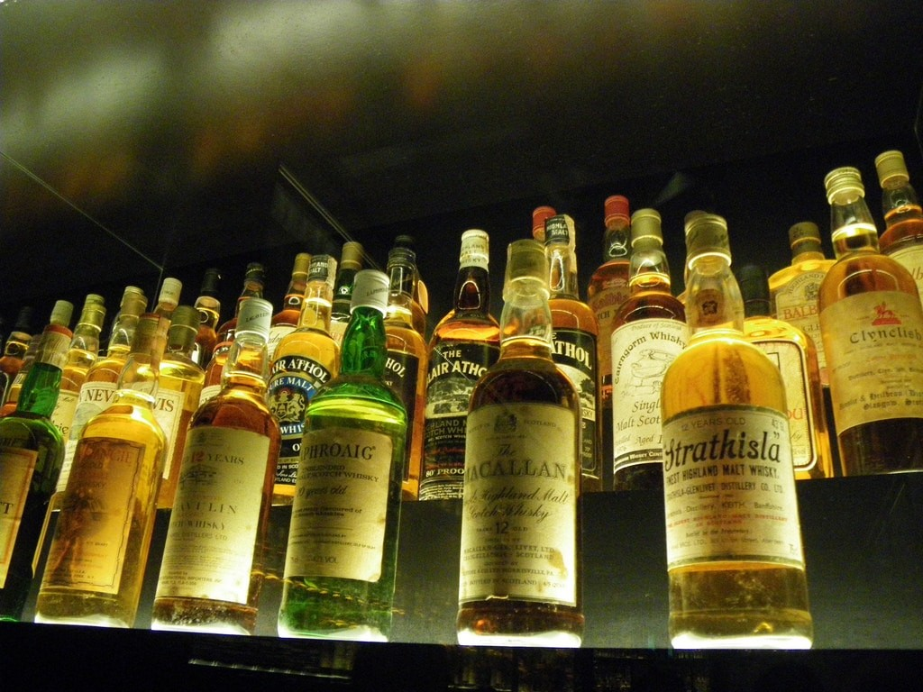 different brand of scotch whisky