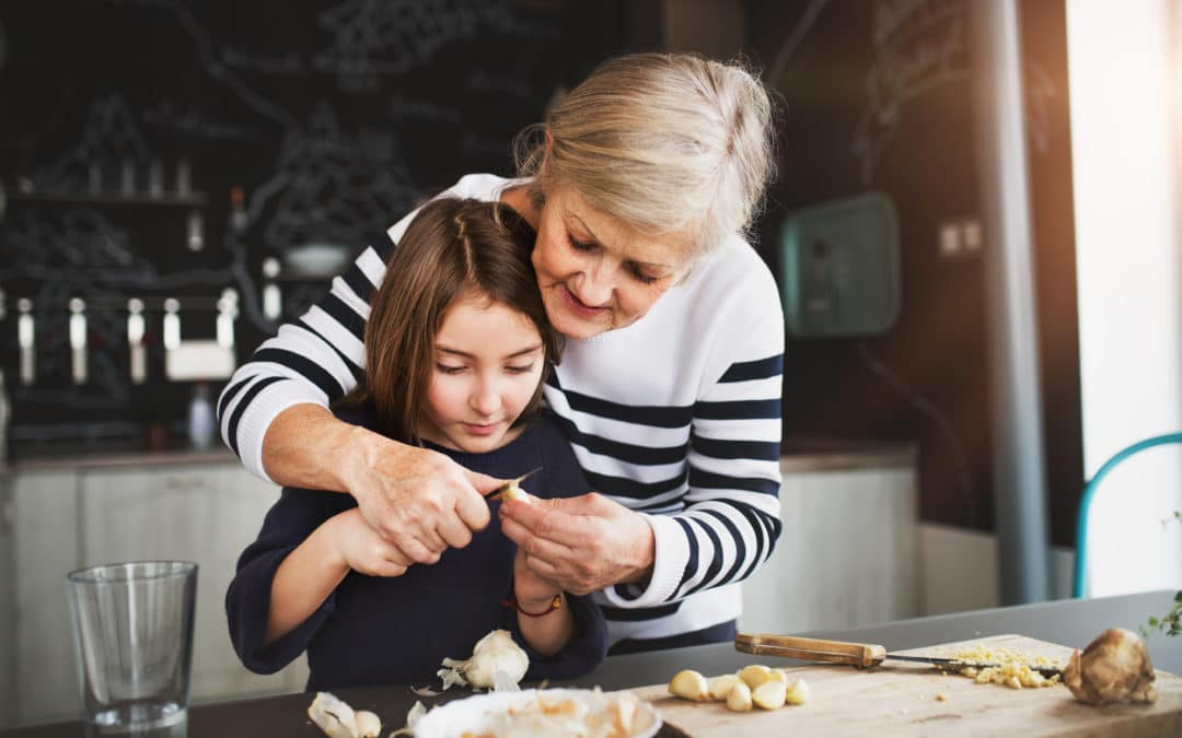 Connecting with Love: Food and Grandkids