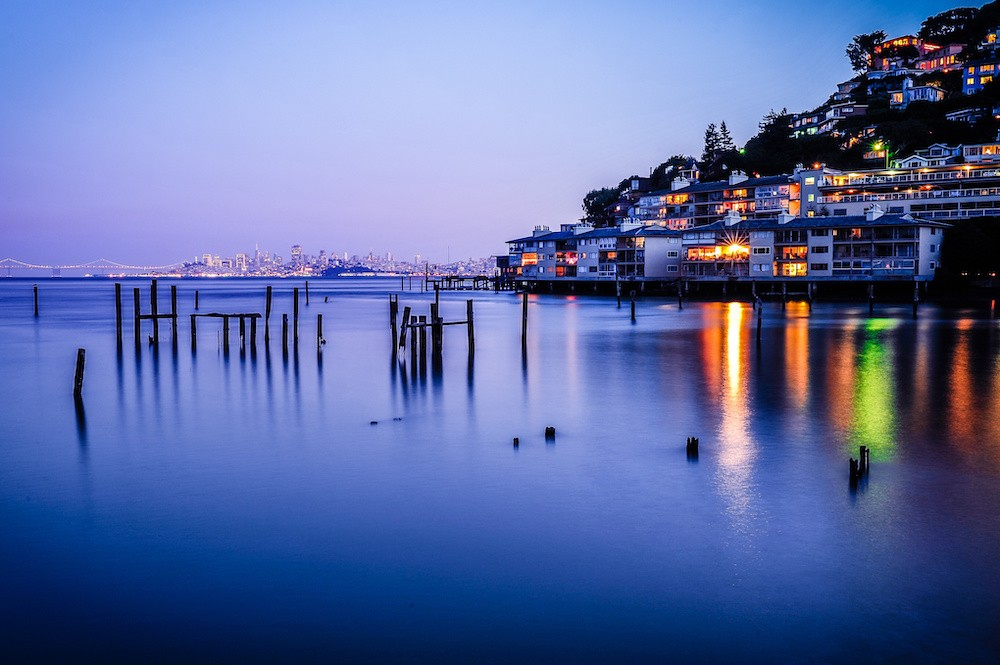 Night in Sausalito