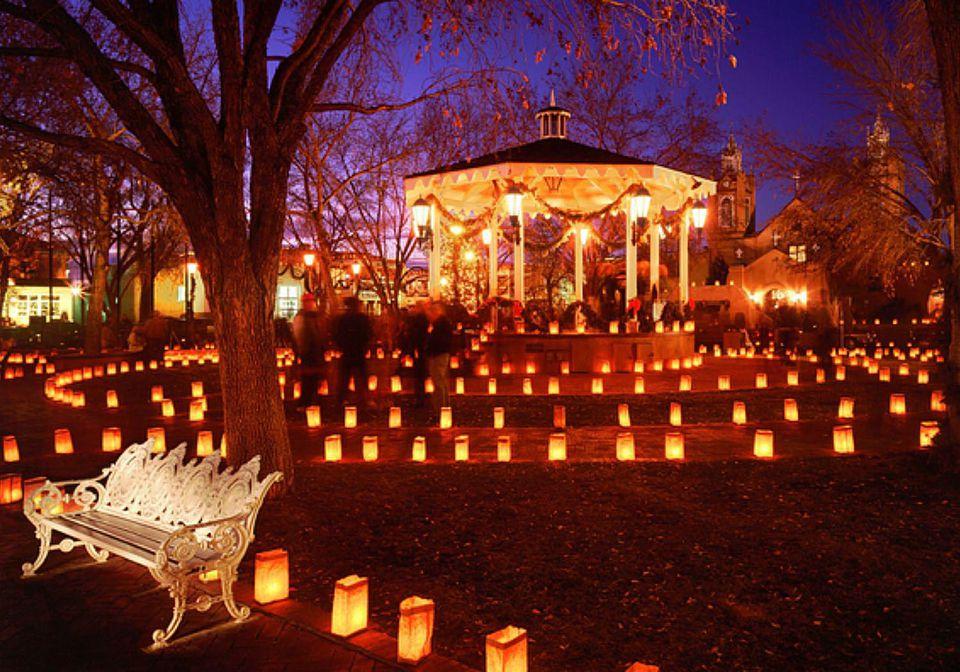 Luminaries in Santa Fe