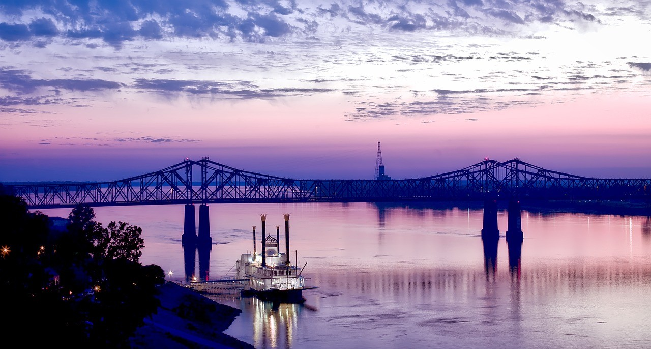 boat in Mississippi River to illustrate one of the best river cruise in america