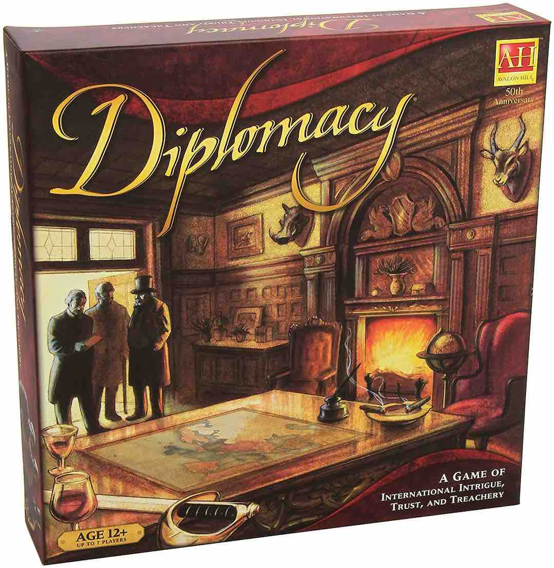 Diplomacy - Game of International Intrigue, Trust and Treachery