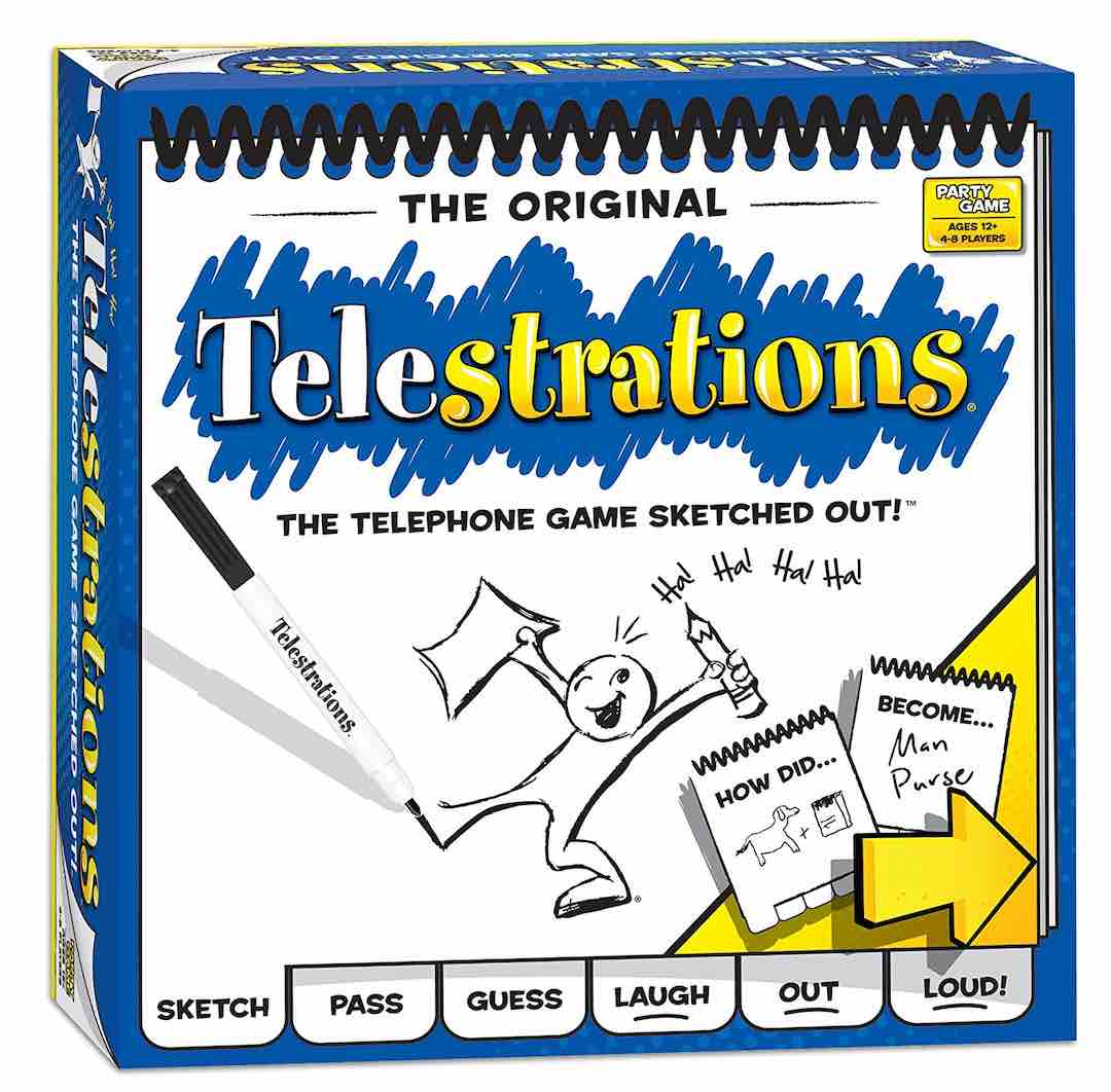 Telestrations - The Telephone Game Sketched out!