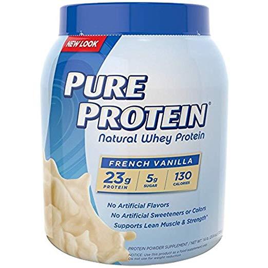 Pure Protein Vanilla Cream 100% Whey